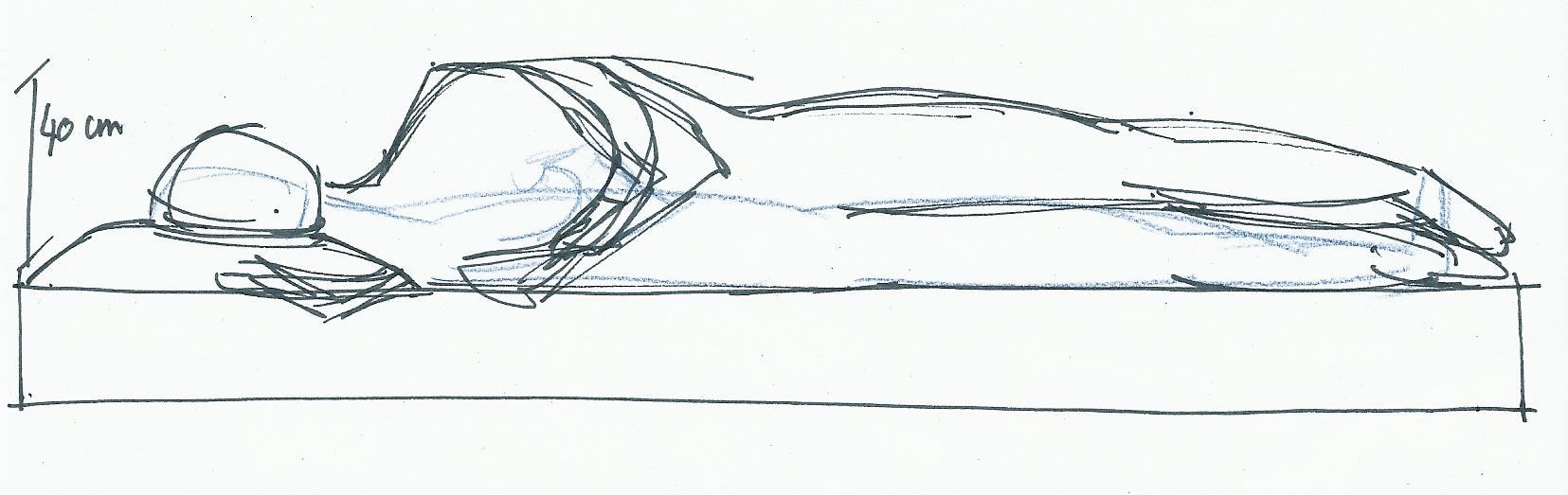 comment dessiner quelqu 39 un qui dort. Black Bedroom Furniture Sets. Home Design Ideas