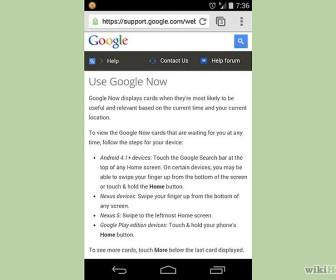 comment fonctionne google now