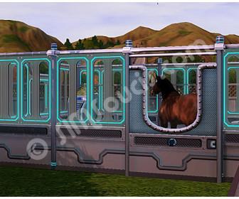 comment laver cheval sims 3