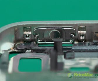 comment réparer bouton power iphone 4