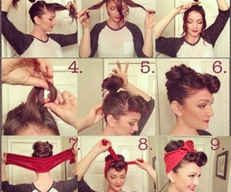 comment se coiffer façon pin up