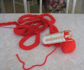 comment tricoter une queue de rat