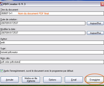 comment ça marche pdf creator