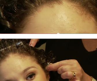 comment coiffer des cheveux frisés