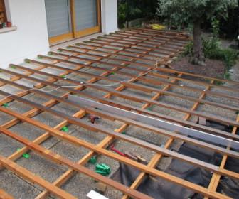 comment construire terrasse bois