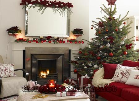 Comment decorer sa maison pour noel for Decoration noel interieur maison