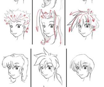 comment dessiner 1 manga
