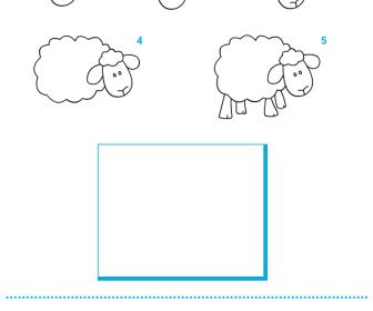 comment dessiner 6 ans