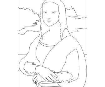 comment dessiner la joconde