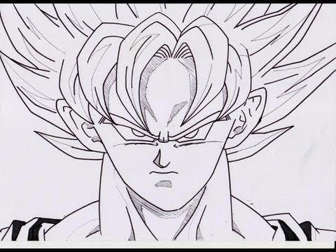 Comment dessiner un super saiyan 5 - Sangoku dessin ...
