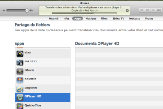 comment fonctionne oplayer hd