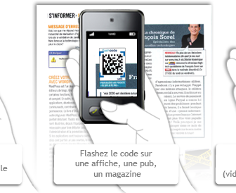 comment marche flashcode