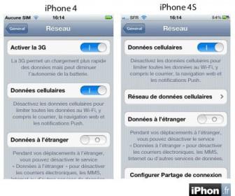 comment mettre 3g sur iphone 4