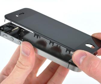 comment réparer vitre iphone 4