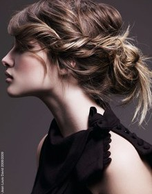 comment se coiffer facilement cheveux longs