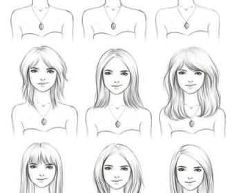 comment se coiffer quand on a un visage rond