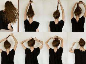 comment se coiffer vite le matin