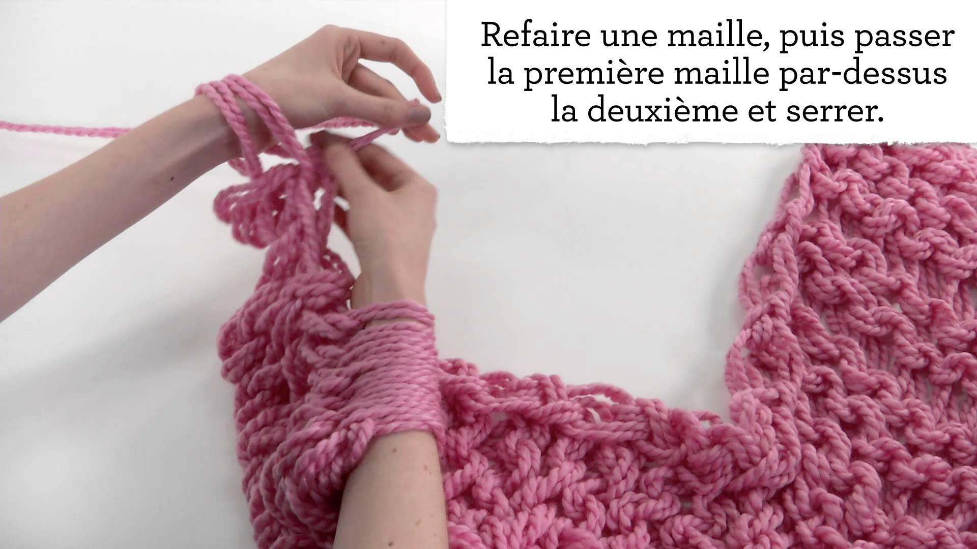 Comment tricoter un snood avec les bras - Tricot avec les bras couverture ...
