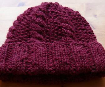 comment tricoter bonnet femme