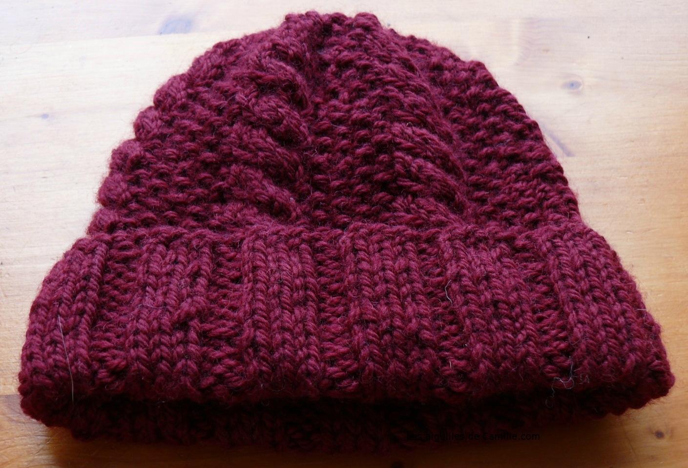 comment tricoter des bonnets