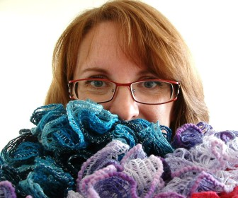 comment tricoter foulard