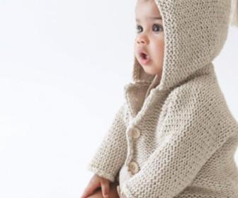comment tricoter un gilet de 6 mois