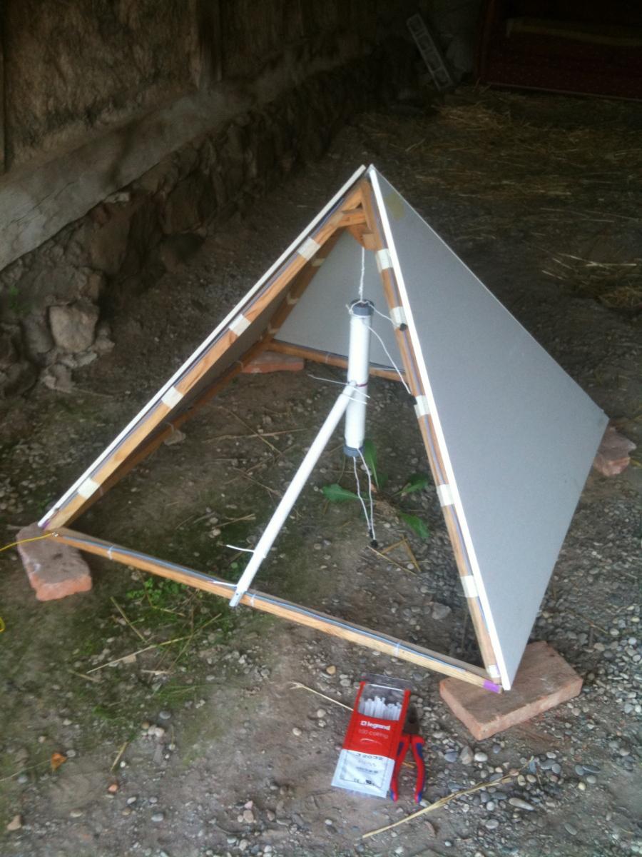 comment construire pyramide