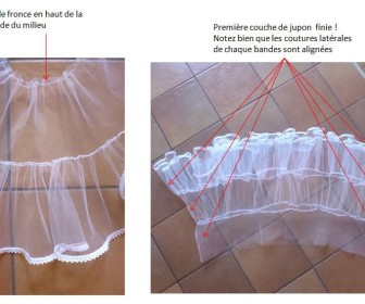 comment coudre tulle