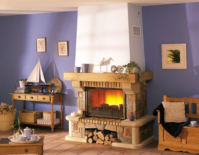 comment decorer hotte cheminee