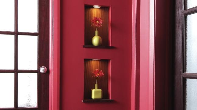 comment d corer une niche murale. Black Bedroom Furniture Sets. Home Design Ideas