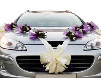 comment décorer voiture de mariee