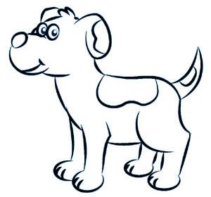 comment dessiner chien