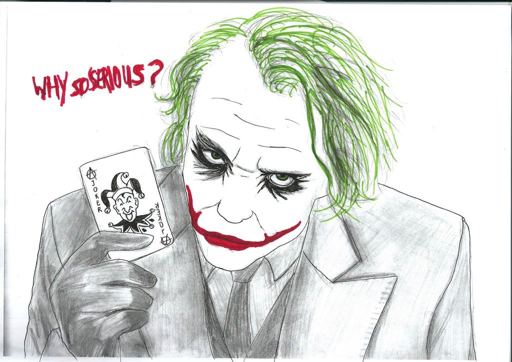 Comment dessiner joker - Comment dessiner joker ...