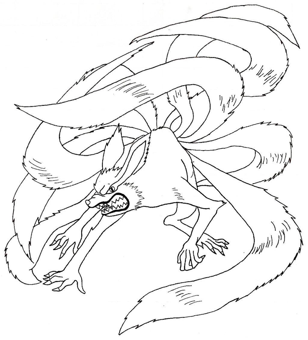 Comment dessiner kyubi - Naruto kyubi dessin ...