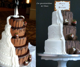 comment faire wedding cake