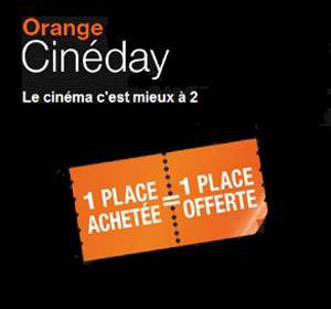 comment marche orange cineday