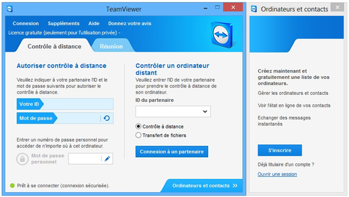 comment marche teamviewer 8