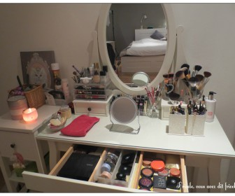 comment organiser coiffeuse
