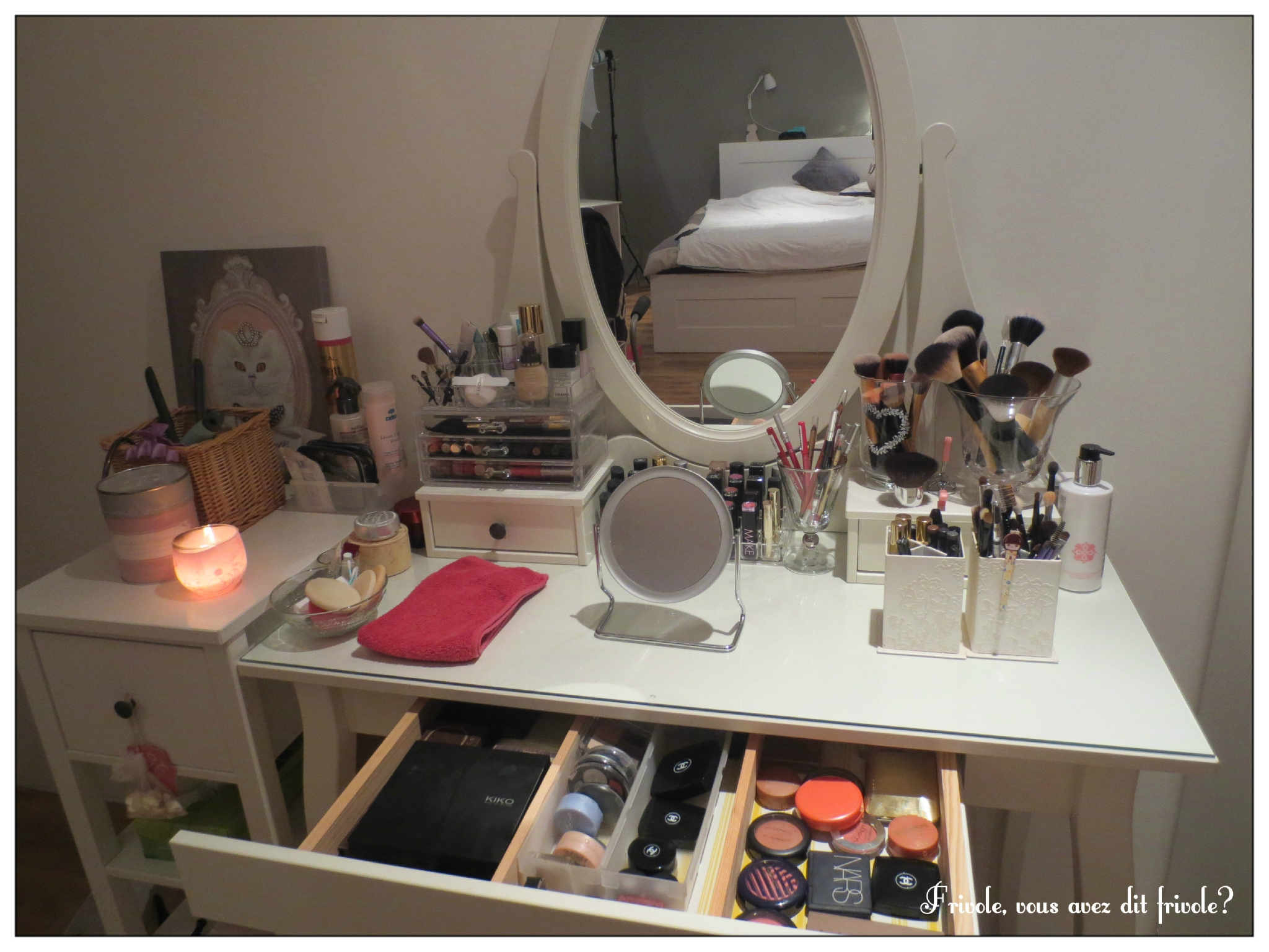 Comment organiser coiffeuse - Comment ranger son maquillage ...
