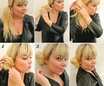comment se coiffer en 2 minutes