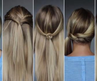 comment se coiffer en 5 min