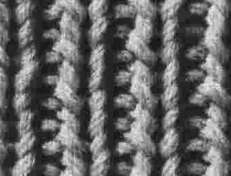 comment tricoter 2 mailles endroit 2 mailles envers