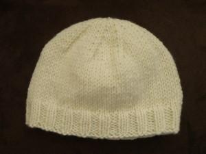 comment tricoter bonnet bebe