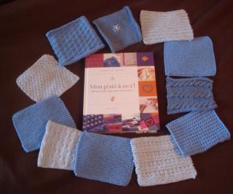 comment tricoter un plaid