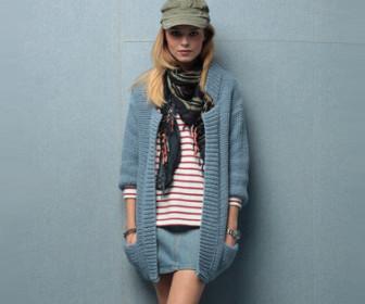comment tricoter une veste en laine