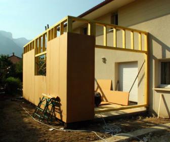 Comment construire extension ossature bois for Construire ossature bois