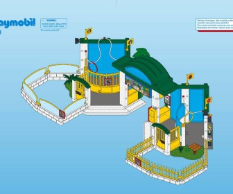 comment construire zoo playmobil