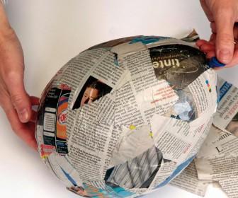 comment décorer du papier maché