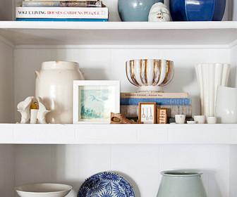 comment décorer une étagère