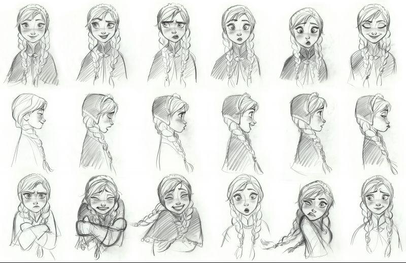 Comment dessiner olaf dans la reine des neiges - Dessiner olaf ...